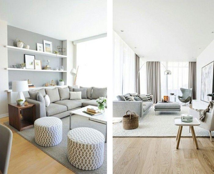 884 best Wohnzimmer Ideen images on Pinterest - wohnzimmer in grun und braun