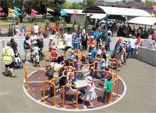 Building Inclusive Playgrounds - Where Children of All Abilities Play Side by Side. Livvi's place in Five Dock is one of our all time favourites