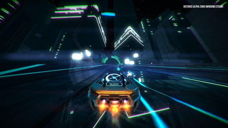 Arcade survival racing