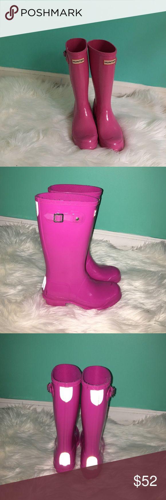 Girls Hunter Boots Size 3 Girls Hunter Boots Size 3 Hunter Boots Shoes Rain & Snow Boots