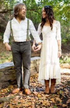 Daniel Bryan & Brie Bella engagement - oh the irony that this is our engagement photo idea