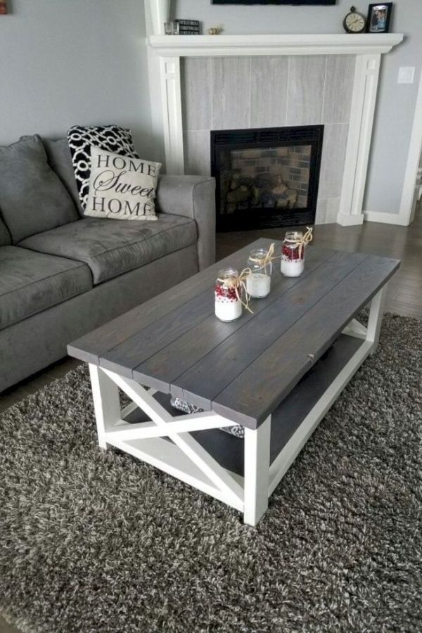 Awesome Diy Rustic Coffee Table Design Ideas And Remodel 7 In 2020