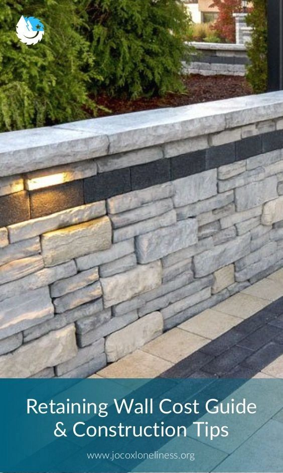 Retaining Wall Cost Guide Construction Tips 1000 In 2020 Retaining Wall Cost Building A Retaining Wall Landscaping Retaining Walls