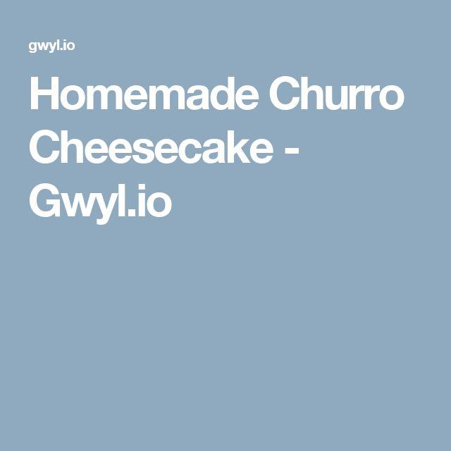 25+ best ideas about Churro cheesecake on Pinterest | Cinnamon sugar crescents, Churros ...
