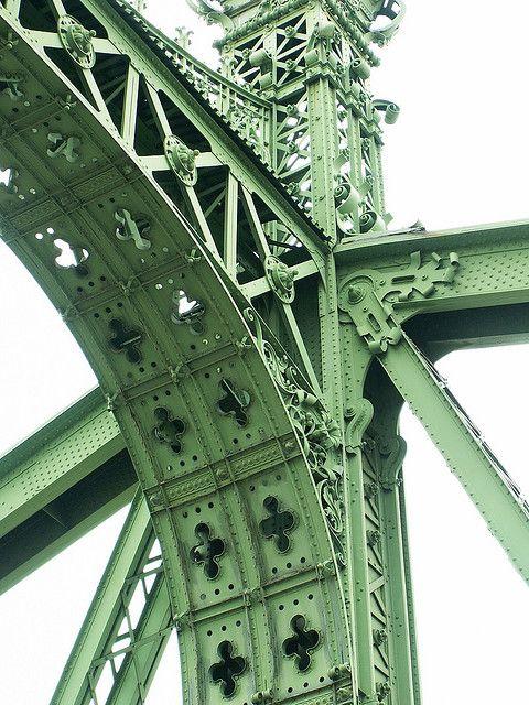 """Budapest - """"Szabadság híd"""" (Liberty bridge) by jaime.silva, via Flickr"""