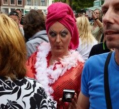 A yearly recurring event where men dress up as women and vice a versa