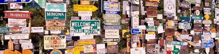The Sign Post Forest at Watson Lake on the Alaska Highway currently has over 72,000 signs… and counting! Be a part of this tradition and add a sign of your own! You can bring one or buy a board here and make it yourself at the visitor's center.