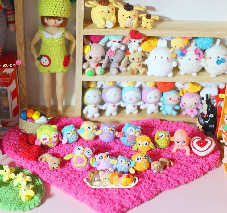 #산리오 #코바늘인형 #손뜨개인형 #아미구루미 #미니어쳐 #토이스타그램 #인형 #마이크로크로셰 #폼폼푸린 #dollstargram #crochet #amigurumi #doll #toy #microcrochet #sanrio #toystagram #amigurumidoll #crochetdoll #amigurumilove #häkeln #pompompurin #crochetlover #rement #あみぐるみ #miniaturedoll #miniature #ミニアチュア #handmade by dearevedoll