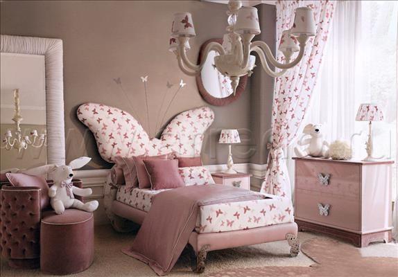 Композиция детская мебель италии Butterfly, производитель DOLFI, коллекция Sogni di Matilde – итальянские детские в салоне «ARREDO»