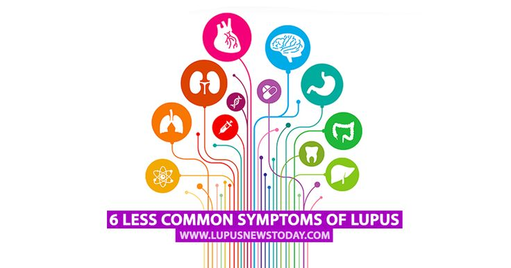 6 Less Common Symptoms of Lupus