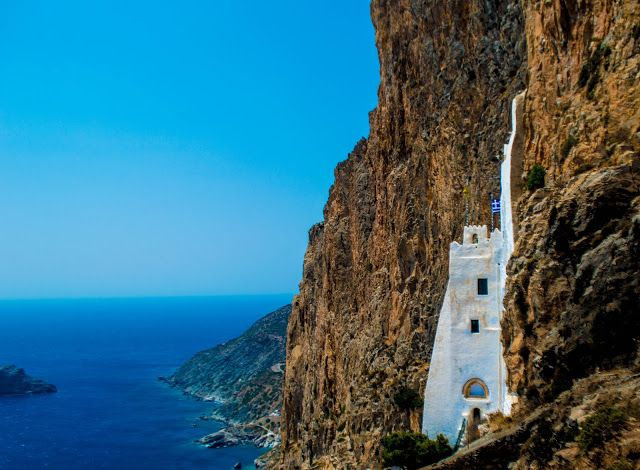 Stavros Tzovaras Photography The monastery of Chozoviotissa - Amorgos island