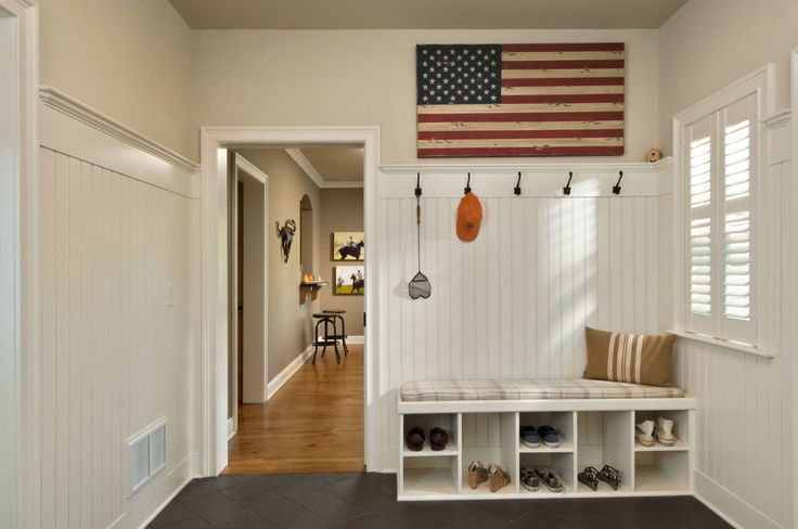 Pin by stephanie taylor on for the home pinterest - Mud room designs small spaces plan ...