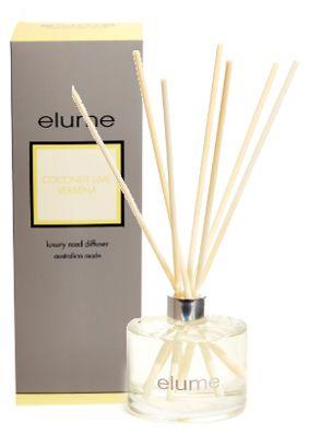 Elume Luxury Coconut Lime Verbena Diffuser
