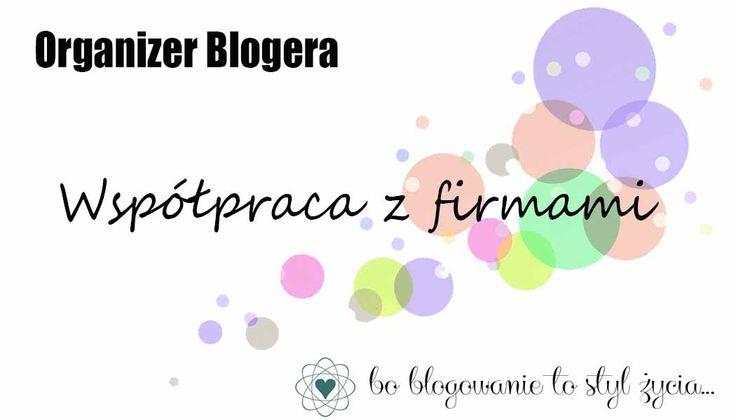 Na blogu druga część organizera do samodzielnego wydruku. Tym razem są to strony dotyczące współpracy z firmami. Zapraszam do pobierania! http://www.mama-bloguje.com/organizer-blogera-wspolpraca-z-firmami/ #planer #kalendarz #blogowanie #organizer #bloger #blog #blogowyorganizer #organizerblogera #printable #dowydruku