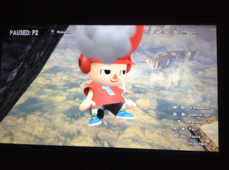 Lolz that is my friend in ssb4 and I just took a pic of this cause it looked really funny when I first saw it and this was last Friday I got this photo and I am happy I got it lolzzzz XD