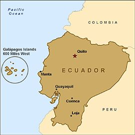 CDC Health Information for Travelers to Ecuador, including the Galápagos Islands