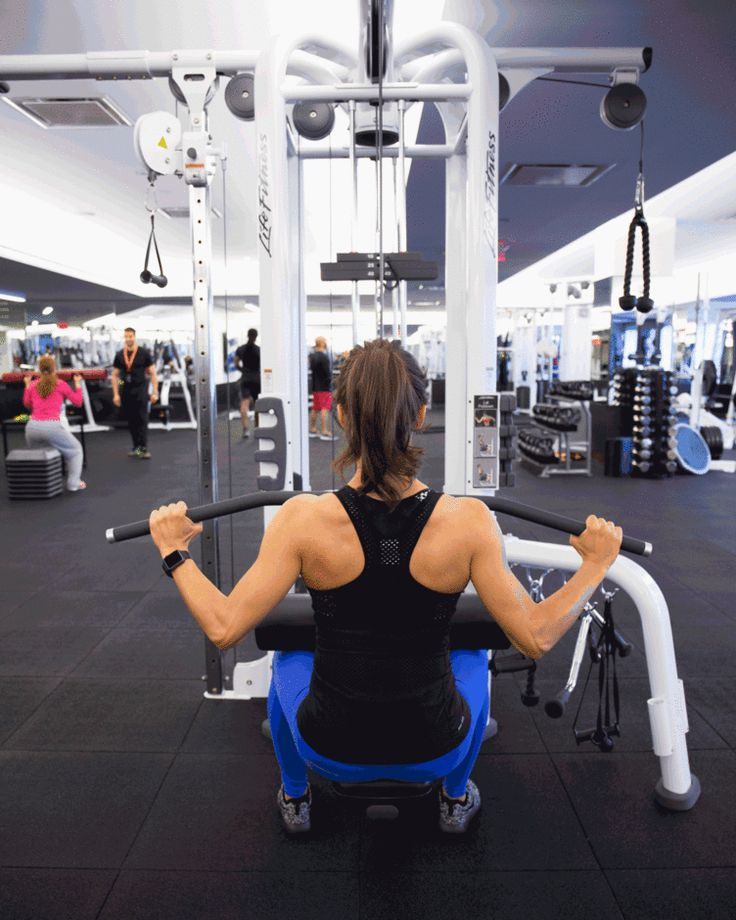 Machines to utilize at the gym