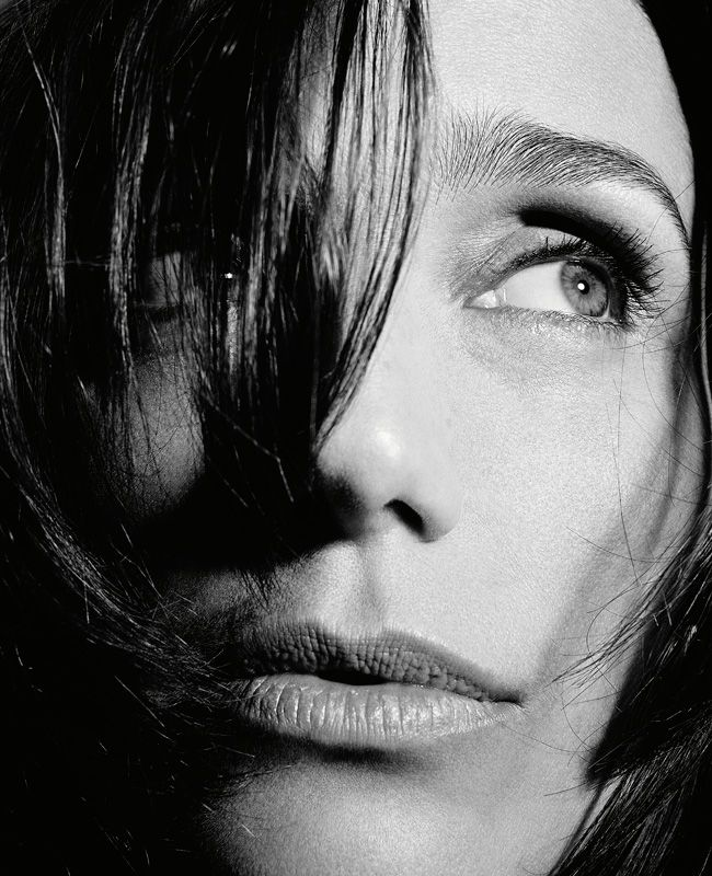 Kristin Scott Thomas Visually Hungry Book Rankin Portraits Book Portrait