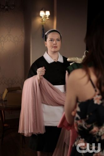 """Petty In Pink""""--  The Picture Zuzanna Szadkowski as Dorota  in Gossip Girl on THE CW. PHOTO CREDIT:  GIOVANNI RUFINO/ THE CW 2011 The CW Network, LLC. All Rights Reserved"""