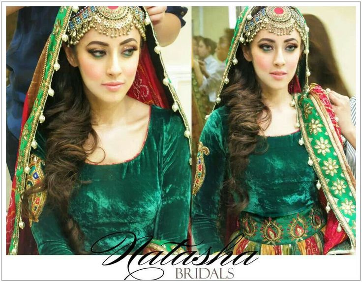 Ainy Jaffri's traditional mehndi look.. makeup by Natasha Salon