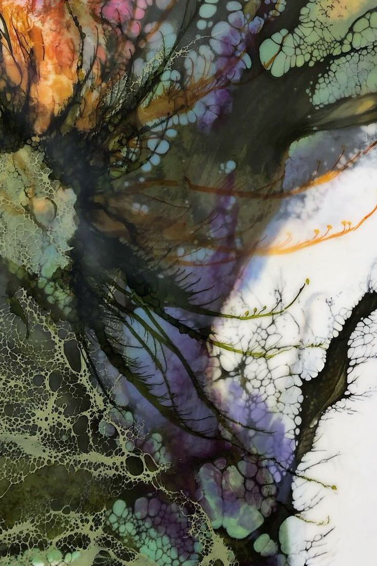 Inspirational Details Abstract Botanical Painting By Seattle