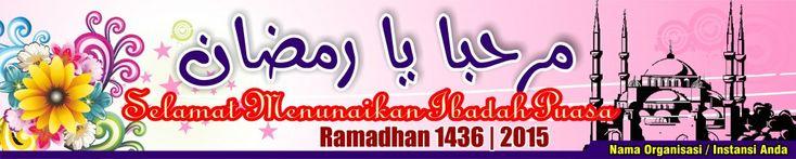 #06-Banner Spanduk Ramadhan 5mx1m Vector Masbadar 2015 M - 1436 Vector CorelDRAW13 14 15 16 17 PhotoShop PDF