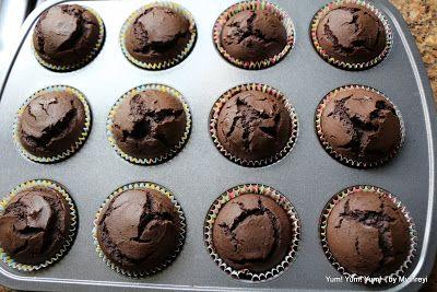 Yum! Yum! Yum!: Chocolate Avocado Cupcakes ~ Vegan Recipes