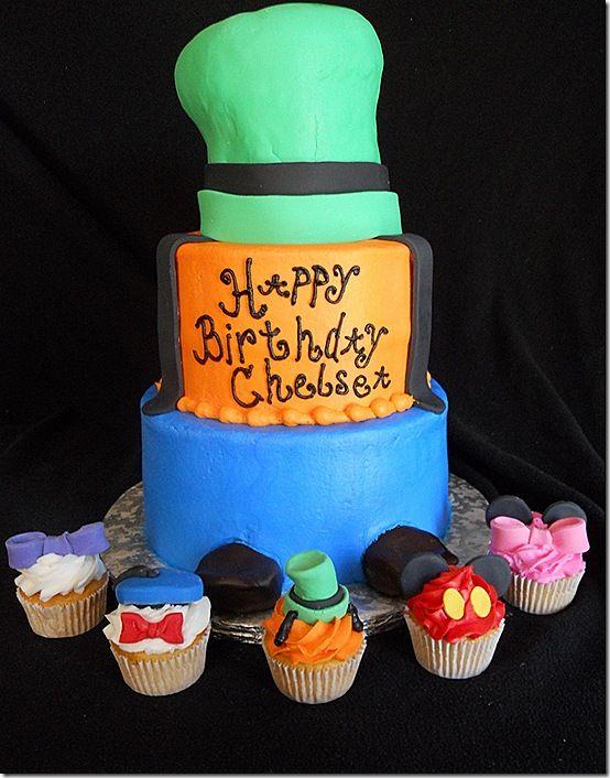 Mickey & Friends Cupcakes