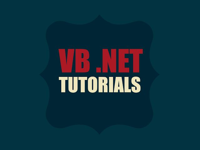 VB.Net Programming Tutorial - Current Affairs 2018, Apache ...