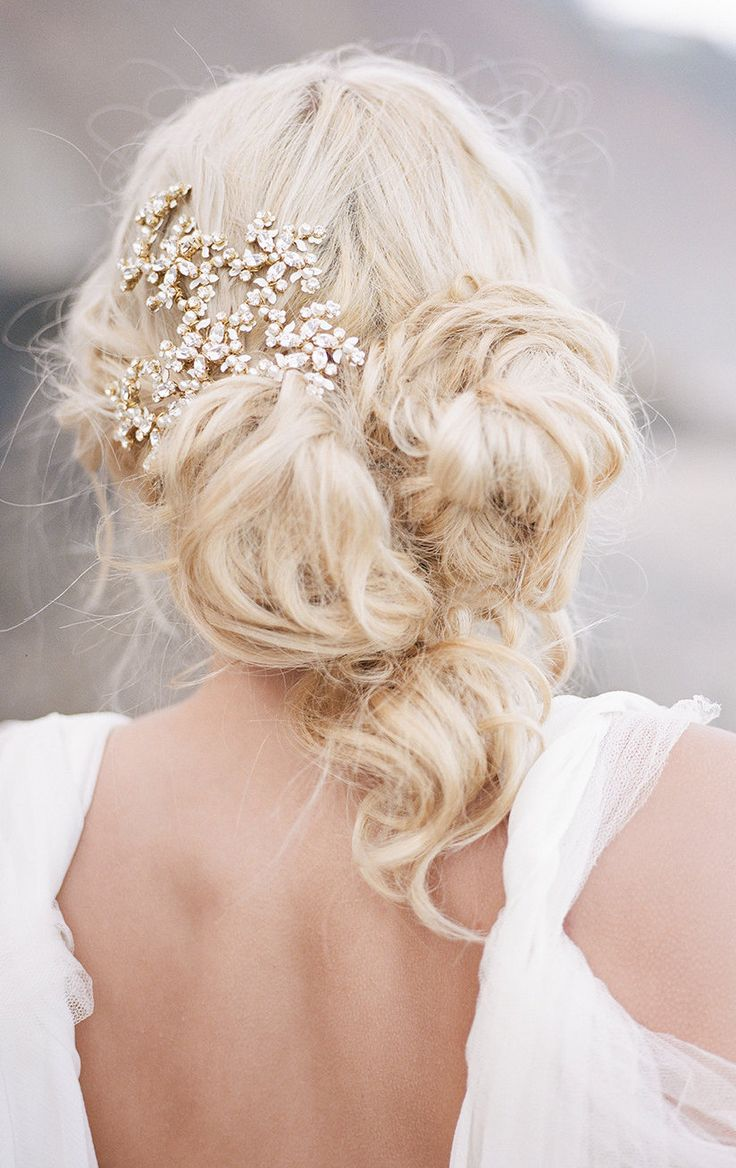 best trouwkapsels images on pinterest hairstyles wedding