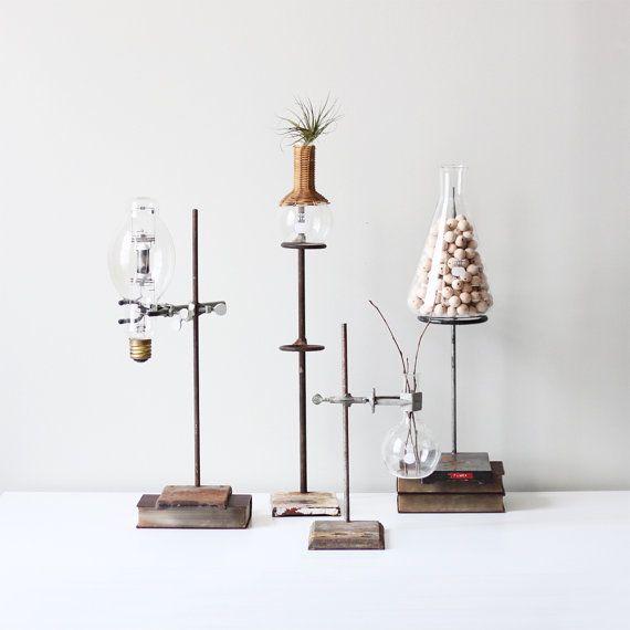 Vintage lab stands