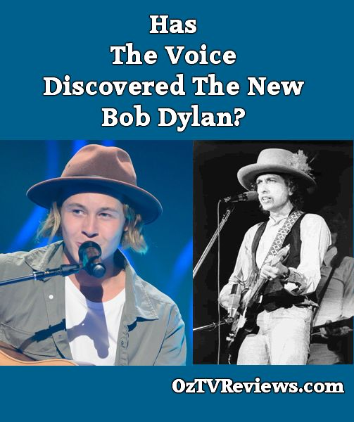 Has The Voice discovered the new Bob Dylan?  #TheVoiceAU #TheVoicefinale  Check out our review of The Voice Grand Final 2015 at http://oztvreviews.com/2015/08/the-voice-grand-final-2015/