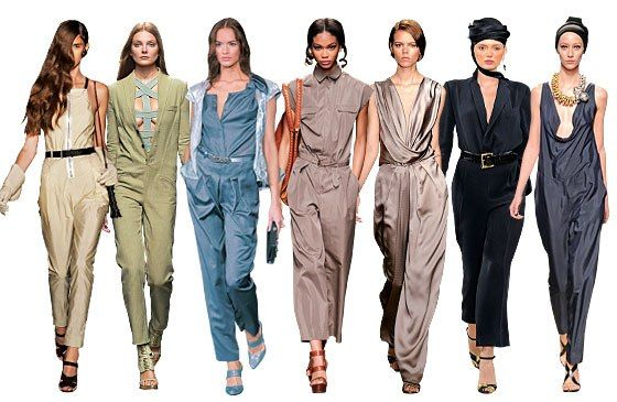 New season with designer jumpsuits for women