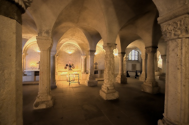 Freising Cathedral Crypt