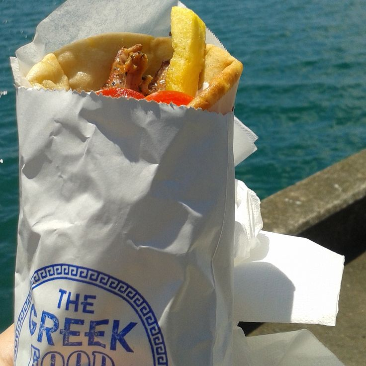 Chicken souvlaki from the Greek Food Truck https://www.facebook.com/TheGreekFoodTruck/info?tab=page_info