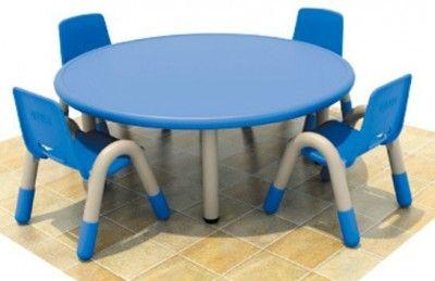 Mesa Redonda Plegable para 10 personas