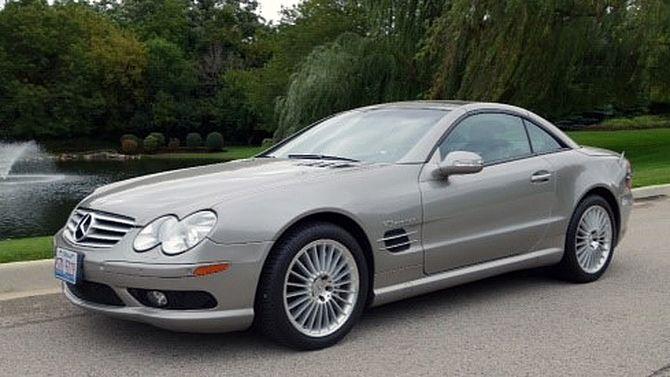 2003 Mercedes-Benz SLK55 AMG   Mecum Auctions
