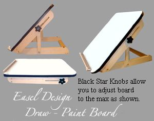 *Table Top Draw/Paint Easel | Lightfoot Ltd