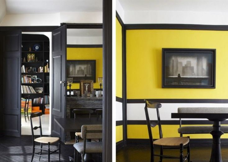 Sarah Lavoine Yellow Painted Walls | Remodelista