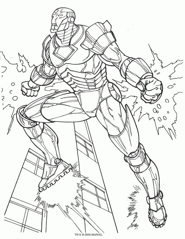 14 best ironman images on Pinterest Coloring sheets Iron man