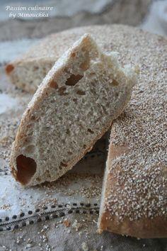 Pain Crone ou Pain à lorge, un des pains populaires du Maroc