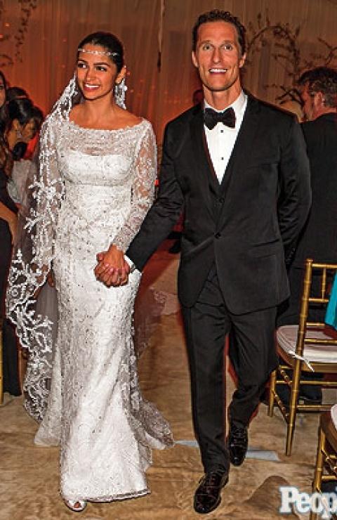 Matthew McConaughey & Camila