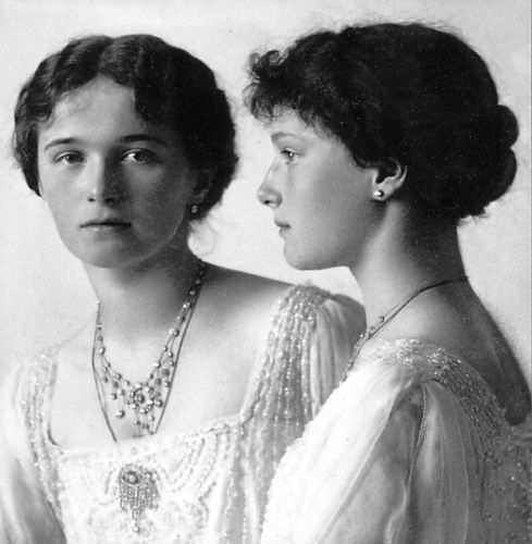 Grand Duchesses Olga and Tatiana.