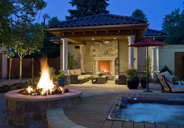 feuerstelle garten offene feuerstelle feuerstelle im garten, Garten und Bauen