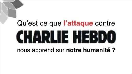 Qu'est Ce Que L'Attaque Contre Charlie Hebdo Nous Apprend Sur Notre Humanité? Un excellent article de Moutassem qui explique les mécanismes qui peuvent mener un homme à tuer ses semblables ... et qui propose aussi des pistes qui me parlent, sans culpabilisation, dans la sérénité et l'acceptation.  A mettre en lien avec mon article à ce sujet : http://blog.scommc.fr/je-suis-charlie-putain-de-croyance/