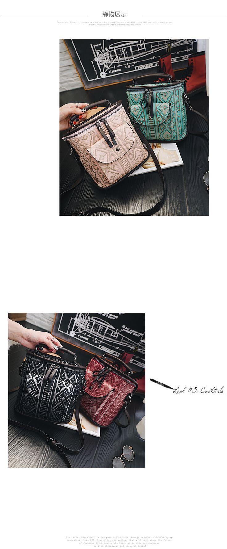 2017 Новые Зимние женские Сумки На Ремне Мода Ведро Личности Цветок Скороговоркой Мешок Хорошего Качества Для Женщин Мягкий Материал Сумки купить на AliExpress