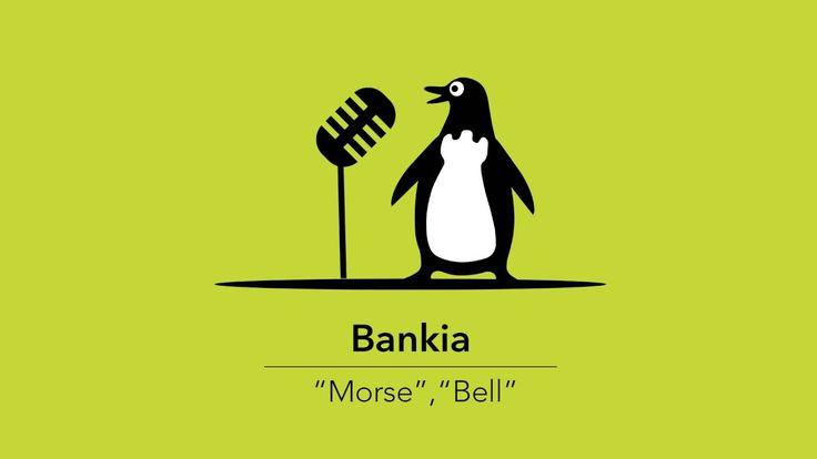 """""""Morse"""" y """"Graham"""", campaña de radio de Pingüino Torreblanca para Bankia"""