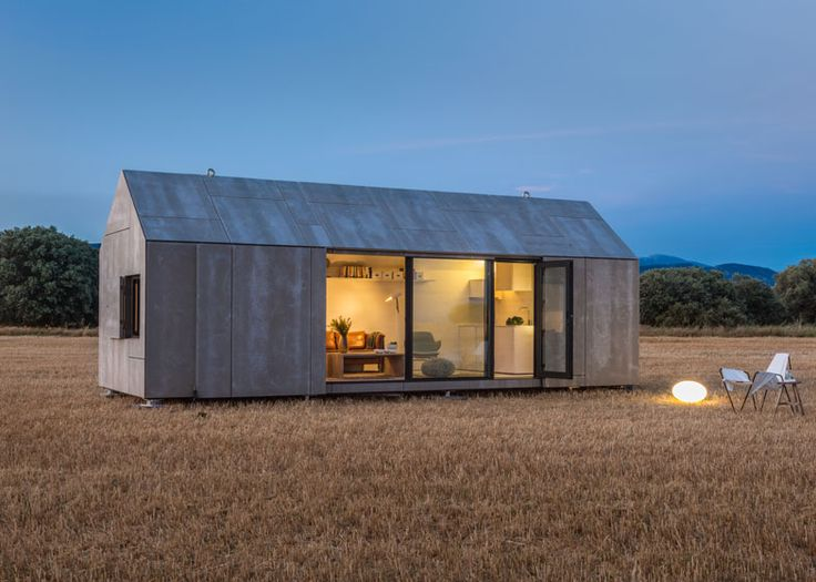 This micro home can be transported on the back of a lorry and placed almost anywhere