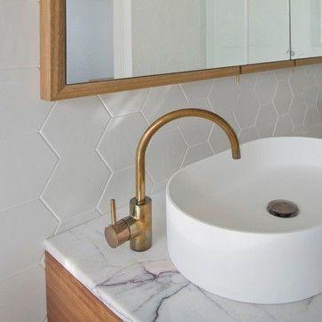Ensuite Detail - Bathroom - Melbourne - Auhaus Architecture