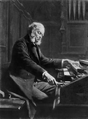 Rongier, Jeanne : Cesar Franck at the consol...